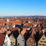 【ドイツ】ローテンブルク絶景の街並みは険しいハシゴを制した者だけが見れる