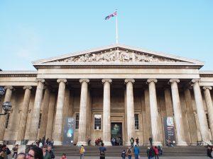 大英博物館入り口