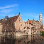 【ベルギー】水の都ブルージュで運河クルーズを満喫
